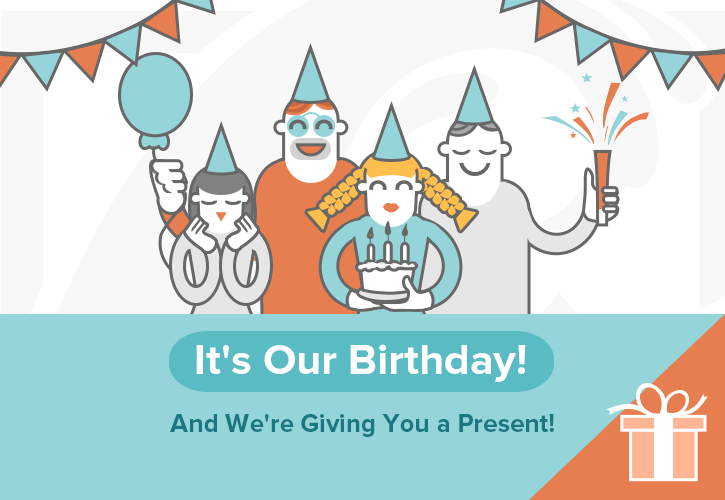 Today is our Birthday!